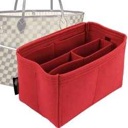 Bag and Purse Organizer with Chambers Style for Louis Vuitton Neverfull Models