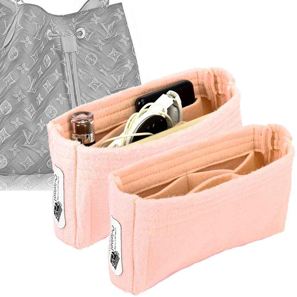 Set of 2 Purse Organizers with the Basic Slim Style for Louis Vuitton NeoNoe Bags