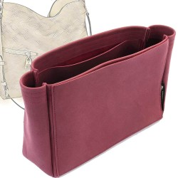 Melie Basic Style Nubuck Leather Handbag Organizer (More colors available)