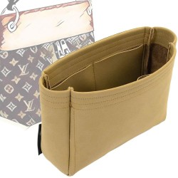 Tuileries Hobo Basic Style Nubuck Leather Handbag Organizer (More colors available)