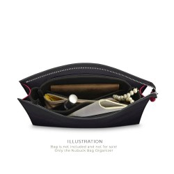 Toiletry Pouch 26 Basic Style Nubuck Leather Handbag Organizer (More colors available)