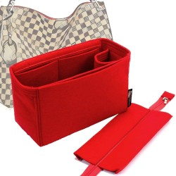 Handbag Organizer with Detachable Zipper Top Style for Graceful PM and MM (More colors available)