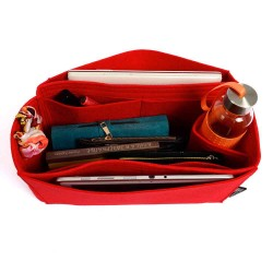 Bag and Purse Organizer with Side Compartment for Keepall Models