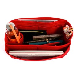 Bag and Purse Organizer with Side Compartment for Keepall 45 and 50
