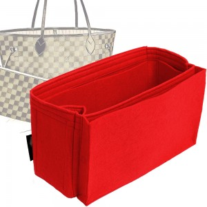 Bag and Purse Organizer with Side Compartment for Neverfull MM and GM