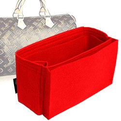 Bag and Purse Organizer with Side Compartment for Speedy Models