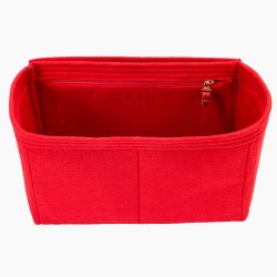 Handbag Organizer with Interior Zipped Pocket for Neverfull PM, MM and GM (More colors available)