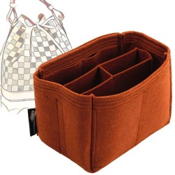 Bag and Purse Organizer with Chambers Style for Louis Vuitton Petit NOE and NOE