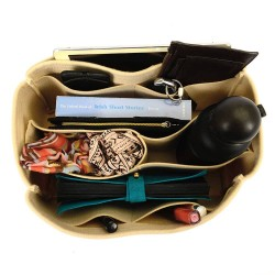 Bag and Purse Organizer with Chambers Style for Louis Vuitton Tivoli GM