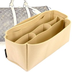Bag and Purse Organizer with Chambers Style for Louis Vuitton Keepall Models