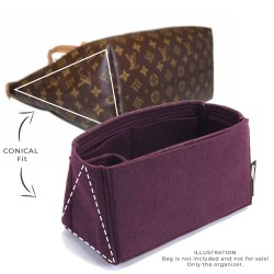 Bag and Purse Organizer with Singular and Conical Style for Louis Vuitton Iena MM