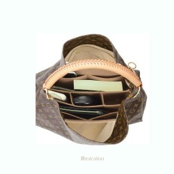 Bag and Purse Organizer with Chambers Style for Louis Vuitton Artsy GM