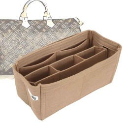 Bag and Purse Organizer with Chambers Style for Louis Vuitton Speedy Models