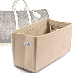Bag and Purse Organizer with Regular Style for Louis Vuitton Keepall 45, 50, 55 and 60