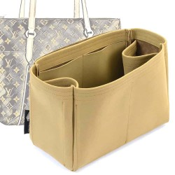 Totally PM/MM/GM Regular Style Nubuck Leather Handbag Organizer (More colors available)