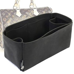 Speedy 25/30/35/40 Regular Style Nubuck Leather Handbag Organizer (More colors available)
