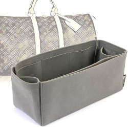 Keepall Regular Style Nubuck Leather Handbag Organizer (More colors available)