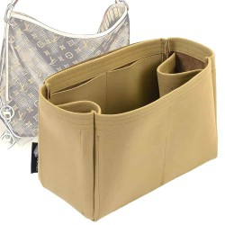 Delightful MM (2015) Regular Style Nubuck Leather Handbag Organizer  (More colors available)