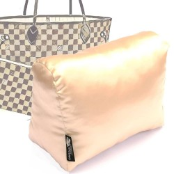 Satin Pillow Luxury Bag Shaper For Louis Vuitton Neverfull PM/MM/GM (Champagne)- More colors available