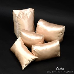 Satin Pillow Luxury Bag Shaper For Boy Bag (Champagne) - More colors available