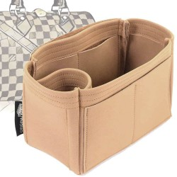 Speedy 25 Singular Style Nubuck Leather Handbag Organizer (More colors available)