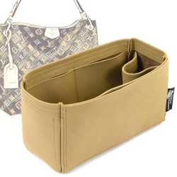 Graceful PM / MM Singular Style Nubuck Leather Handbag Organizer (More colors available)