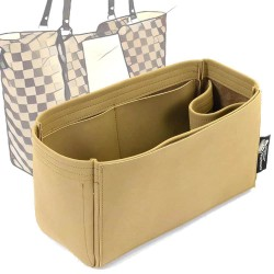 Jersey Singular Style Nubuck Leather Handbag Organizer (More colors available)