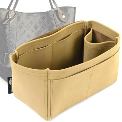 Hina MM Singular Style Nubuck Leather Handbag Organizer (More colors available)