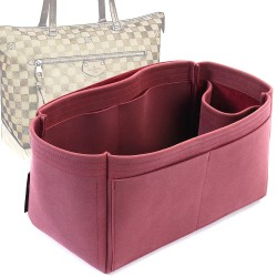 Iena MM Singular Style Nubuck Leather Handbag Organizer (More colors available)
