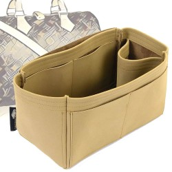 Speedy 30 Singular Style Nubuck Leather Handbag Organizer  (More colors available)
