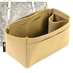 Totally GM Singular Style Nubuck Leather Handbag Organizer (More colors available)