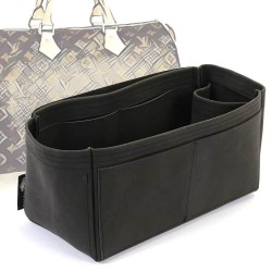 Speedy 35 Singular Style Nubuck Leather Handbag Organizer  (More colors available)