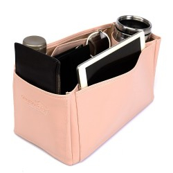 Speedy 35 Vegan Leather Handbag Organizer in Blush Pink Color