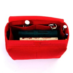 Felt Bag Organizer with Top-Closure Style for Le Pliage
