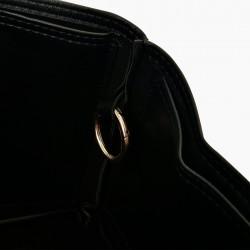 Neverfull MM Vegan Leather Handbag Organizer in Black Color