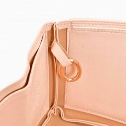 Speedy 30 Vegan Leather Handbag Organizer in Blush Pink Color