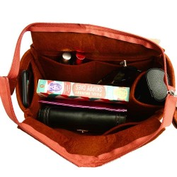 Bag and Purse Organizer with Zipper Top Style for OntheGo MM and GM (More colors available)