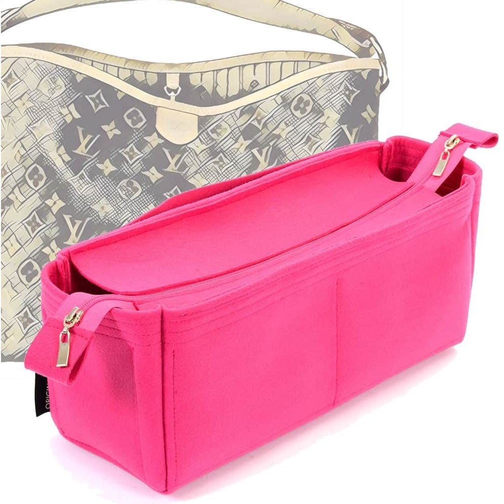 Bag And Purse Organizer With Zipper Top Style For Delightful Mm New Old Gm More Colors Available
