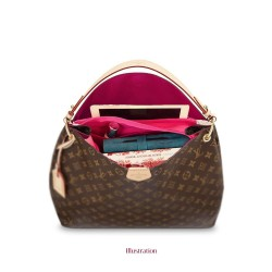 Bag and Purse Organizer with Zipper Top Style for Graceful (More colors available)