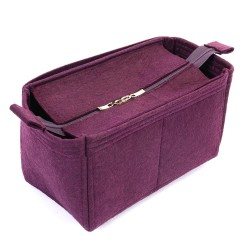 Bag and Purse Organizer with Zipper Top Style for Iena MM (More colors available)