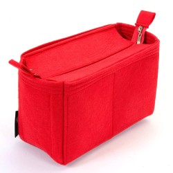 Bag and Purse Organizer with Zipper Top Style for Delightful MM (New), MM (Old) and GM  (More colors available)