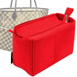 Bag and Purse Organizer with Zipper Top Style for Neverfull MM and GM (More colors available)