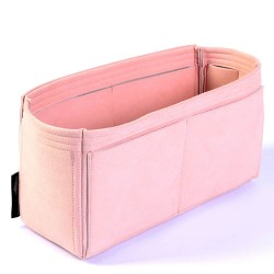 Microsuede Bag Organizer For LV Delightful In Blush Pink– Limited Edition