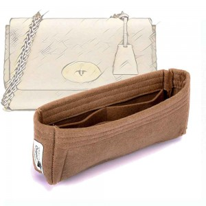 Bag and Purse Organizer with Basic Slim Style for Mulberry Lily