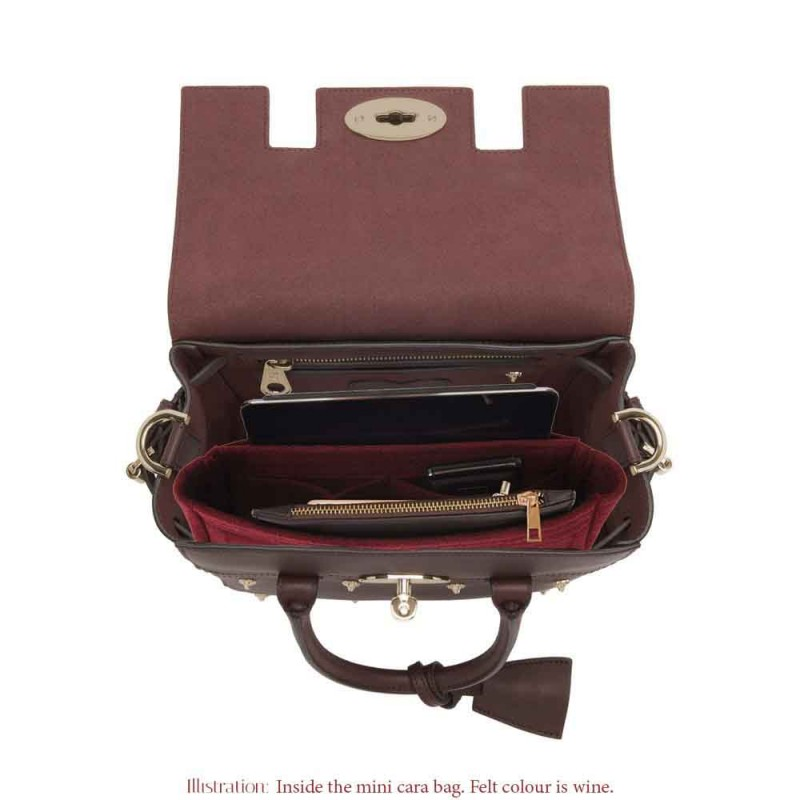 50b6023034ce ... new zealand bag and purse organizer with basic style for mulberry cara  models 40843 ea7c7 ...