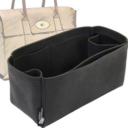 Bayswater Regular Style Nubuck Leather Handbag Organizer  (More colors available)