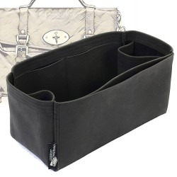Mulberry Alexa Regular Style Nubuck Leather Handbag Organizer (More colors available)