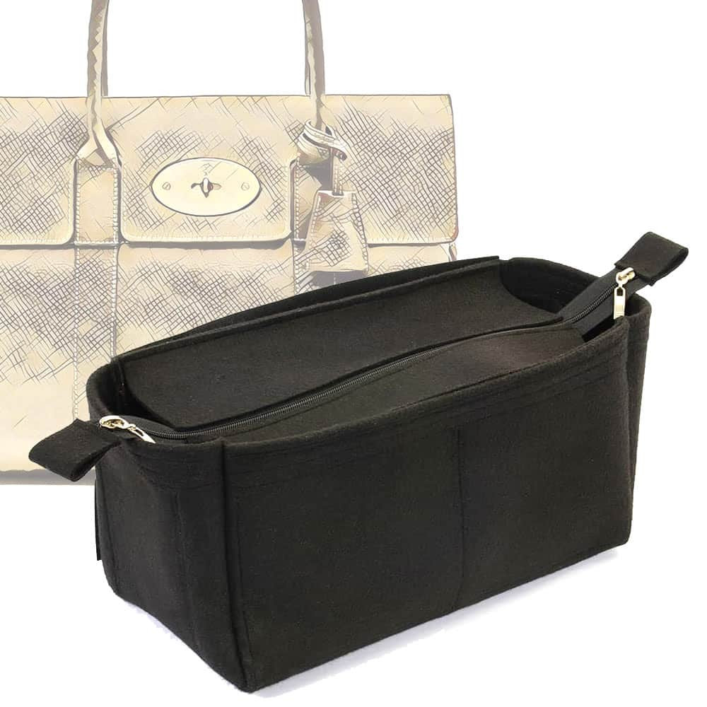 fd3296abe7 Bag and Purse Organizer with Zipper Top Style for Mulberry Bayswater (More  colors available)