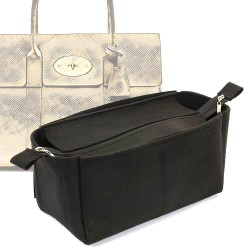 Bag and Purse Organizer with Zipper Top Style for Mulberry Bayswater (More colors available)