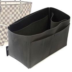 Singular Style Nubuck Leather Handbag Organizer for Neverfull Models